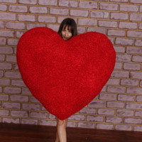 Giant Heart Pillow - Valentine's Day Gift