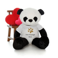 48in Life Size Personalized Panda Ricky Xiong