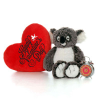 20 Inch Giant Teddy Brand Koala with Happy Valentine's Day Heart