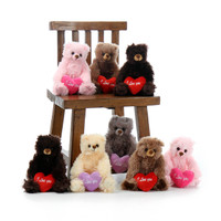 8 Tiny Tubs Stuffed Animal Teddy Bears