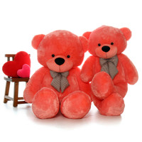 Bubble Gum Pink Teddy Bear Family
