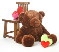 3ft Chestnut Brown Teddy Bear