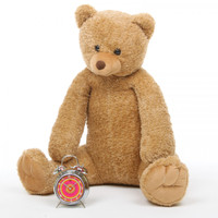 Honey Tubs amber brown teddy bear 36in