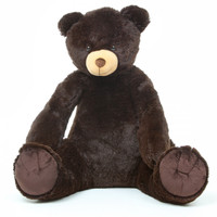 42in Baby Tubs chocolate brown teddy bear
