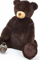 Huge Chocolate Brown Teddy Bear Baby Tubs 42in