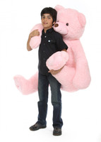52in Pink Darling Tubs Teddy Bear
