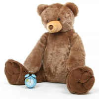 Life Size Mocha Brown Teddy Bear Sweetie Tubs