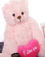 18in Pink Tubs Hug Care Package Teddy Bear