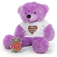 Personalized Huge Teddy Bear DeeDee Cuddles 30in