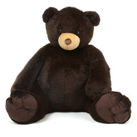 Life Size Baby Tubs Giant Teddy Bear Chocolate Brown 65 inch - Huge!