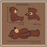 4ft Dimension