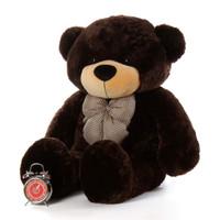 Life Size Cutest Chocolate Brown Teddy Bear Brownie Cuddles 48in