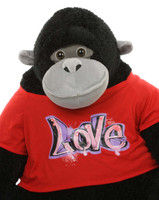 Send A Piece of Heaven to Your Sweetheart with Adonis Cutie Giant Stuffed Gorilla!
