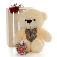 Vanilla Cream Teddy Bear gift cutest Cozy Cuddles 30in