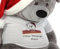 Personalised Teddy Bear Christmas Gift