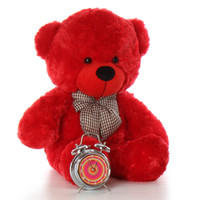 Red Cuddles teddy bear unbelievably soft and adorable