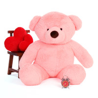 Big Pink Teddy Bear Gigi Chubs 60in