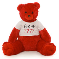 Big Prom Red Teddy Bear
