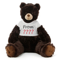 2½ ft Baby Tubs Cuddly Dark Brown Prom Teddy Bear (Prom ????)