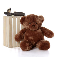 Sweet Big Chubs Mocha Brown Teddy Bear 30in