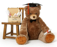 Graduation Teddy Bear Sweetie Tubs 42in