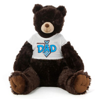 Brown Father's Day Big Teddy Bear