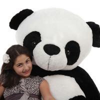 Life Size Panda Teddy Bear 6 Foot Stuffed Animal Toy