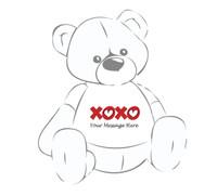 XOXO Teddy bear Tshirt