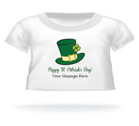 'Happy St. Patrick's Day!' Giant Teddy Bear Personalized Shirt
