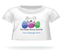 """The Easter Bunny Sent Me"" Giant Teddy Bear Personalized Easter shirt"