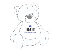 Giant Teddy Bear I Did It T-shirt