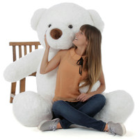 6ft Teddy Bear White Sprinkle Chubs (Model and Props are NOT included)