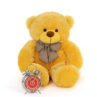 2ft huggable cuddly Big Yellow daisy giant Teddy Bear huggable