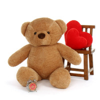 Cutie Chubs Adorable Life Size Jumbo Amber Teddy Bear 48in (2)