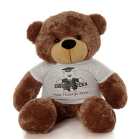 48in Sunny Cuddles Graduation Class of 20XX Teddy Bear