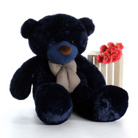 5ft Navy Blue Royce Cuddles Giant Teddy Bear