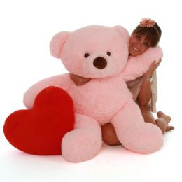 Gigi Chubs Plump and Adorable Light Rose Plush Teddy Bear 38in