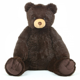 Baby Tubs Sweet Chocolate Brown Teddy Bear 32in