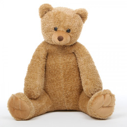Honey Tubs Plush Amber Teddy Bear 36in