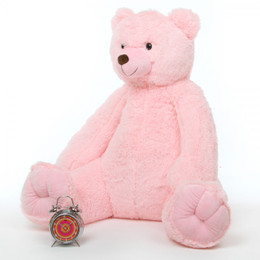 Darling Tubs Extra Cuddly and Soft Pink Teddy Bear 42in