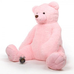 Darling Tubs pink teddy bear 65in