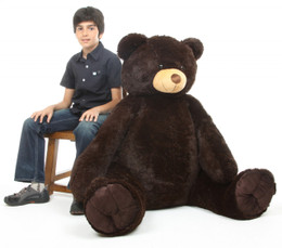 Baby Tubs Cuddly Chocolate Brown Teddy Bear 52 inch
