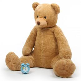 Jumbo Honey Tubs Plush Amber Teddy Bear 52in