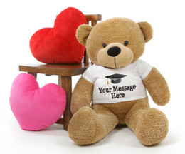 Cuddles Personalized Graduation Teddy Bear 38in