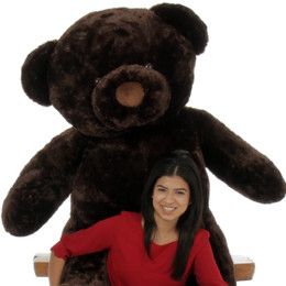 Munchkin Chubs Life Size Adorable Chocolate Brown Teddy Bear 55in