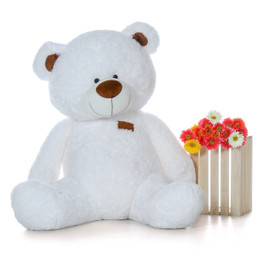 52 Inch Giant White Super Soft Teddy Bear
