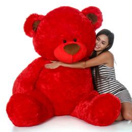 Randy Shags Jumbo Red Teddy Bear 52in
