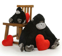 Princess Cutie 27 inch Lovable Stuffed Gorilla Mom