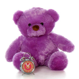Lila Chubs Soft Adorable Big Lavender Purple Teddy Bear 30in