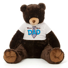 Dk Brown Teddy Bear Gift For Dad